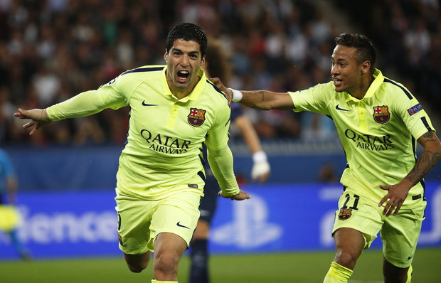 Champions: PSG 1- Barcelona 3 El plomero de Salto / Chasque es una ...