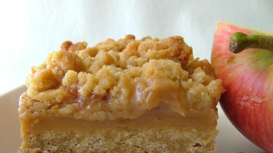 Budín de manzana con crumble . Gastronomia.com.uy