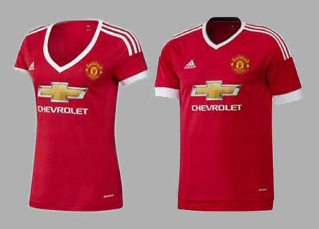 Polémica por la camiseta para mujeres del Manchester 8c347a7c290ce