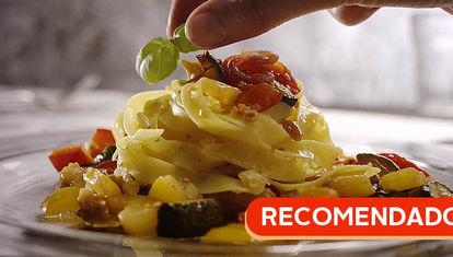 RECOMENDADO: Pasta con ratatouille
