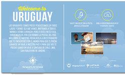 Contenido de la imagen Bienvenidos a Uruguay