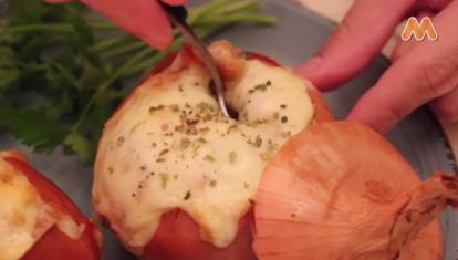 IDEAS AL PLATO: Cebollas rellenas