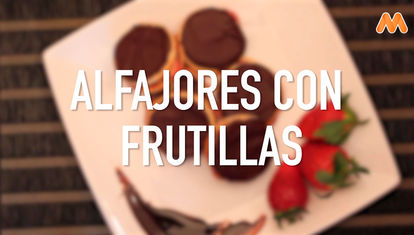 IDEAS AL PLATO: Alfajores con frutillas