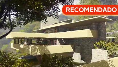 La vivienda más famosa: la Casa de la Cascada vista en 3D