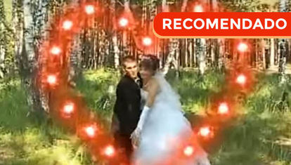 Rusia: el mejor video de casamiento