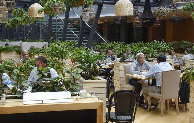 Zonamerica invita a conocer el restaurante jard n junto a for Restaurante jardin