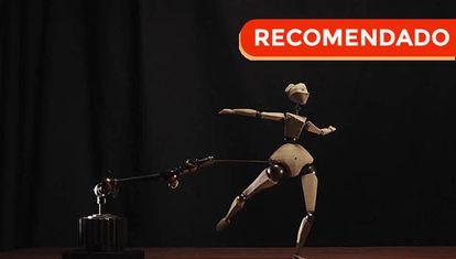 Corto animado: la bailarina