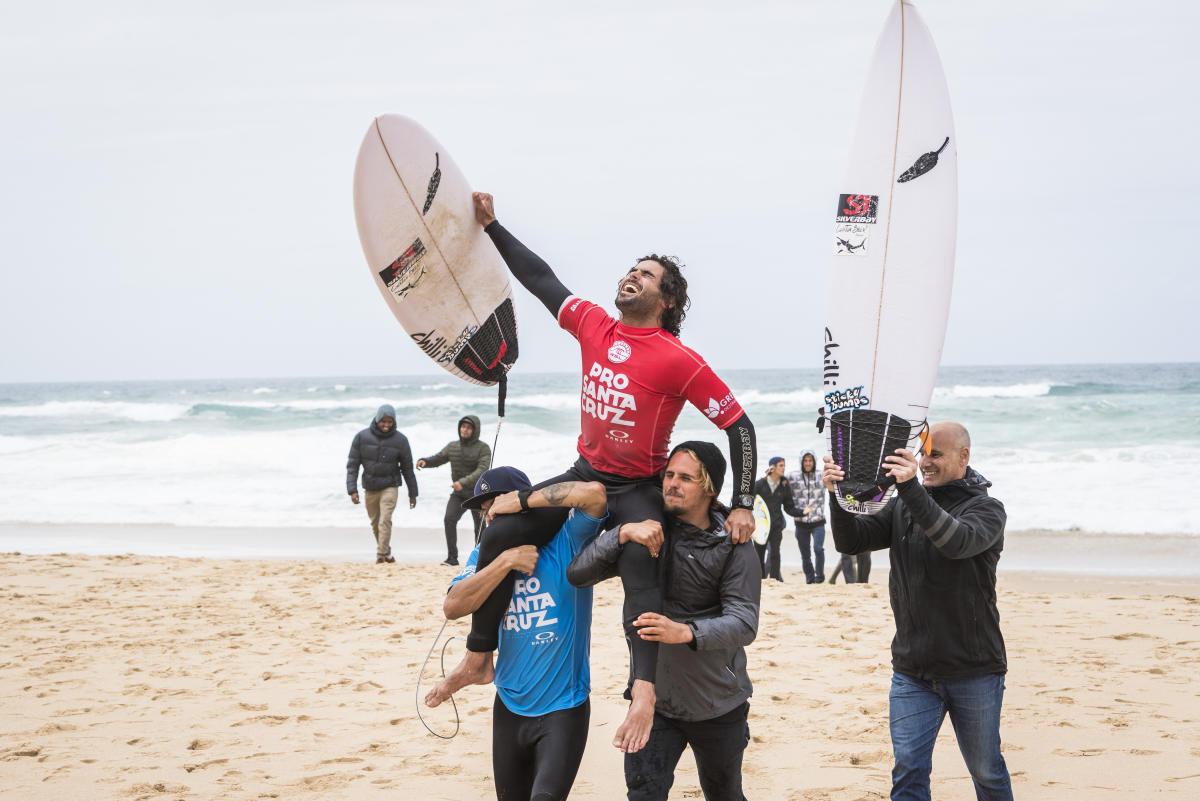 Circuito Mundial De Surf : Surf: marco giorgi hizo historia grande en portugal de rocha al