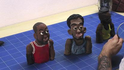 Corto animado: Estrellas de la NBA