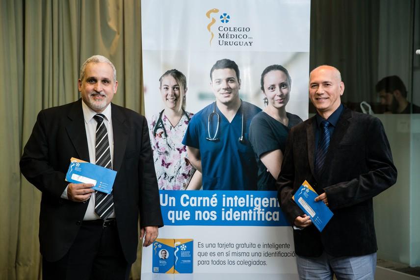 El Colegio Médico del Uruguay lanzó oficialmente el Carné