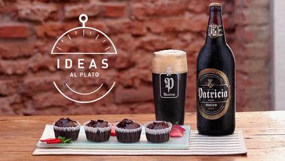 Muffins de chocolate y cerveza