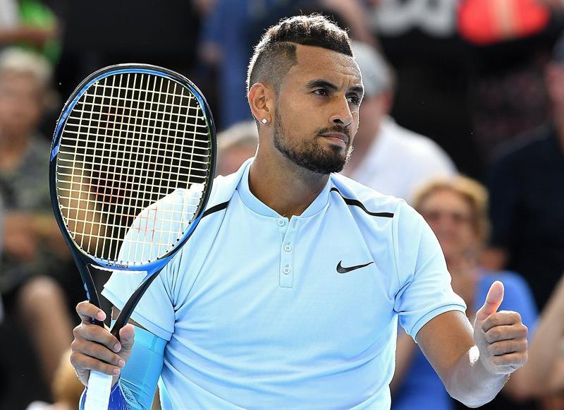 50adc398c17 ATP 250 de Brisbane  Nick Kyrgios ganó con sufrimiento y chocará con  Dolgopolov en cuartos