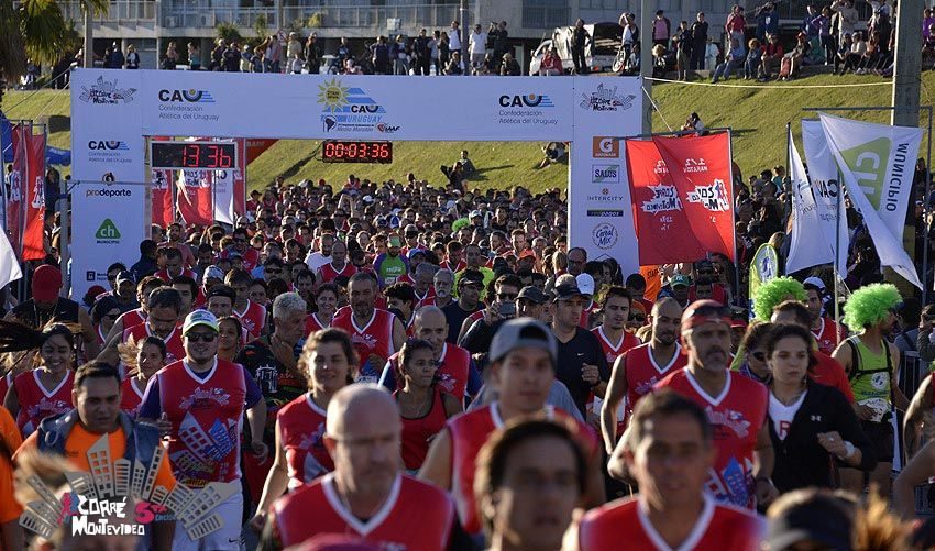 Montevideo a correr