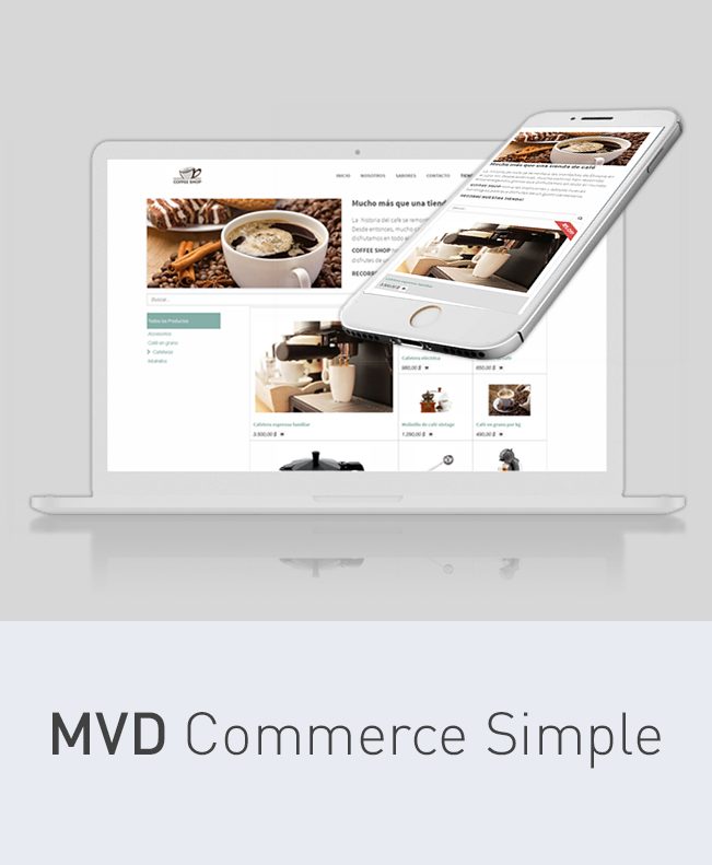 imagen del contenido MVD Commerce Simple