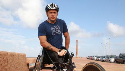 """Eduardo Dutra, atleta paralímpico: """"Acceder a una silla de atletismo tiene un costo bastante elevado"""""""