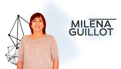 """Milena Guillot: """"Ahora el mensaje es el medio"""""""