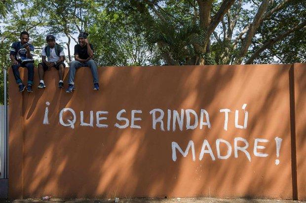 Protestas en Nicaragua contra el gobierno de Ortega. Foto: EFE | Jorge Torres (Archivo)