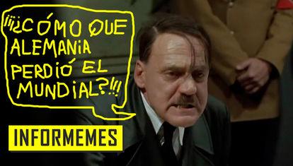 La ira de Hitler en internet