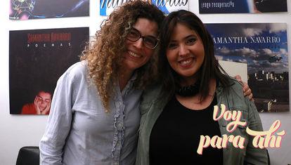 """Samantha Navarro está por publicar un libro: """"es de ciencia ficción, semi-lésbica y semi-humorística"""""""