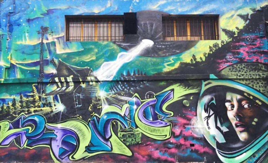Fotorreportaje El Museo En La Calle Buscando El Arte Urbano De