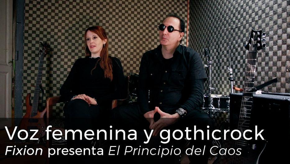 Voz femenina y gothicrock