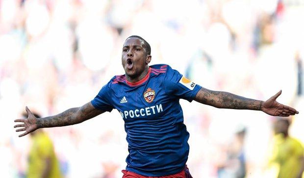 Abel Hernández volvió a anotar en Rusia. Foto: Prensa CSKA