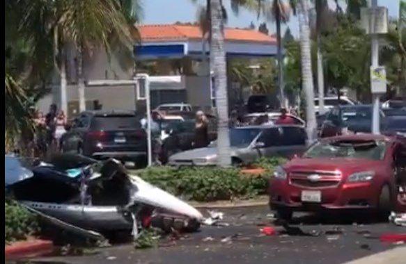 Al menos 5 fallecidos tras estrellarse una avioneta en California