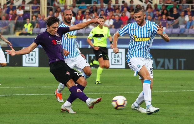 Fiorentina no perdonó y goleó al Spal. Foto: EFE l CLAUDIO GIOVANNINI