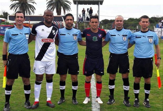 Atenas y Danubio empataron a cero en Maldonado. Foto: Prensa AUF