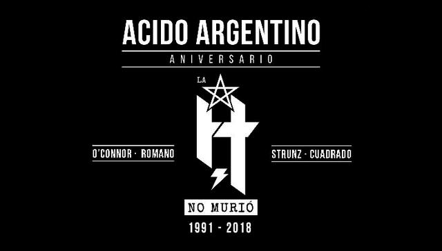 Acido Argentino: La H no Murió