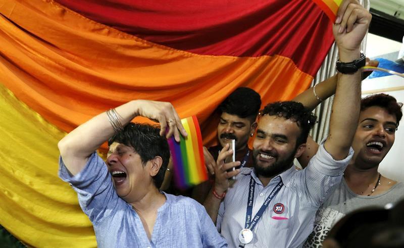 LGBT - Corte Suprema de India despenaliza la homosexualidad