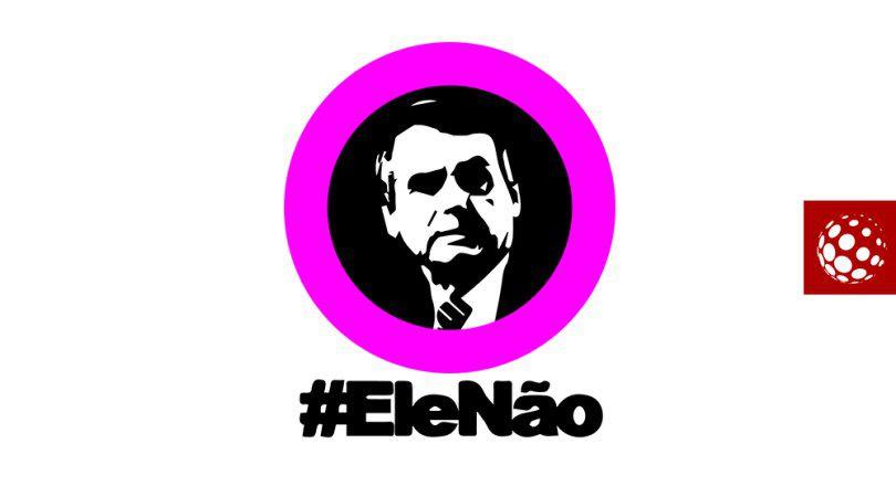 Grito mundial contra el candidato Jair Bolsonaro