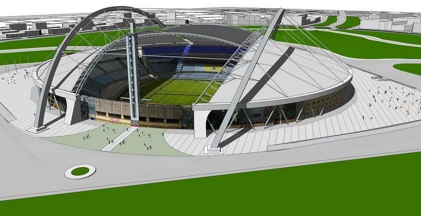 Image result for proyecto estadio centenario 2030