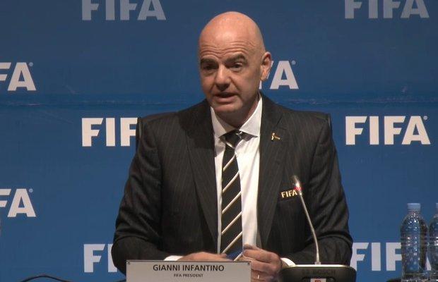 Gianni Infantino habló sobre Catar 2022. Foto: FIFA.com
