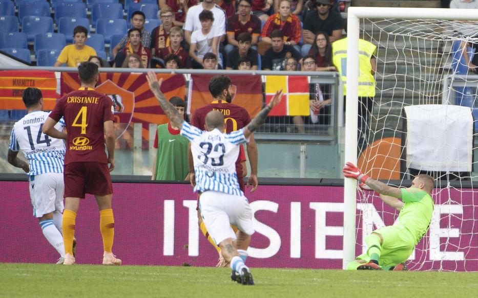 Italia  Roma sucumbió ante Spal por 2-0 0b62f067f1a7c