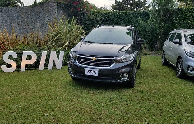 Lanzamiento Chevrolet Uruguay Presenta La Nueva Generacin De Spin