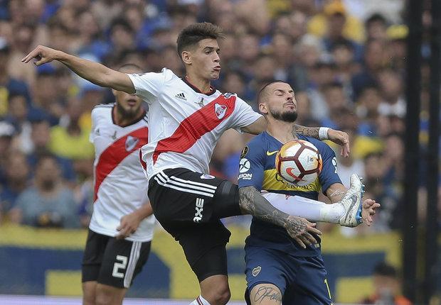 Boca y River definirán la Copa Libertadores en el Monumental. Foto: EFE - Juan Ignacio Roncoroni