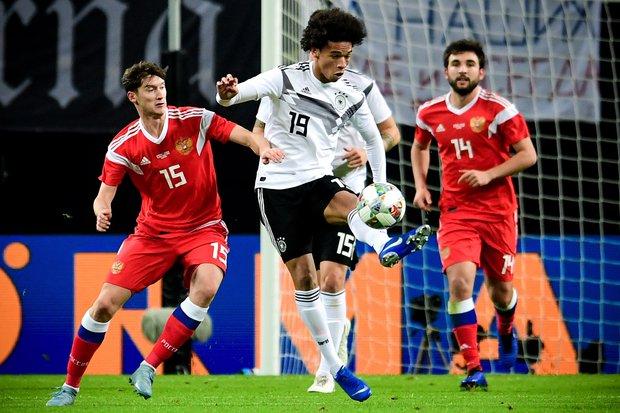 Leroy Sané anotó para Alemania. Foto: EFE l Filip Singer