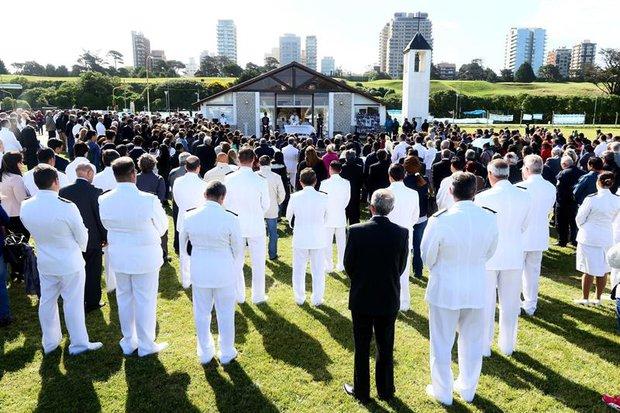 EFE Acto de conmemoración a un año de la desaparición del ARA San Juan