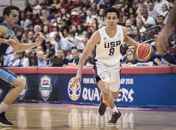 Trice, uno de los tres que repite de Las Vegas. Foto: FIBA Américas