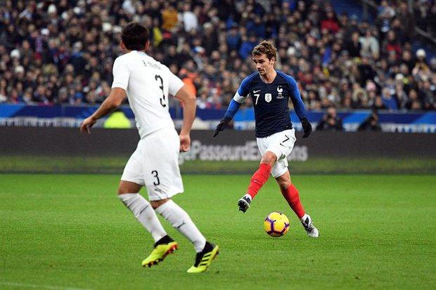 Antoine Griezmann cerró un 2018 soñado con Francia. Foto: EFE