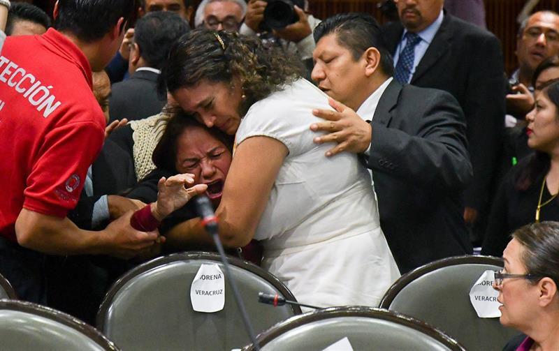 México: Velorio de hija asesinada de diputada es custodiado con alta seguridad