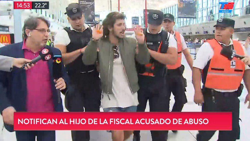 Crece el escándalo sexual del hijo de una fiscal argentina (vídeos)