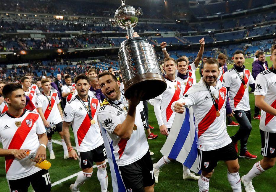 1e702571 Libertadores: siempre que River Plate fue campeón tuvo uruguayos en su  plantel