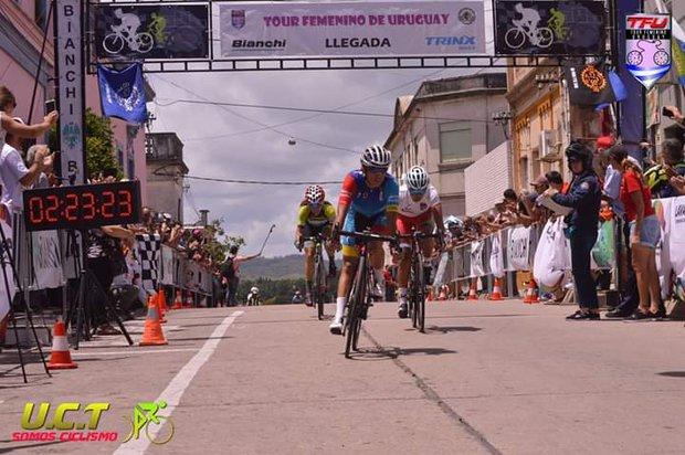 Granizal en acción. Foto: Gentileza Uruguay Ciclismo Total