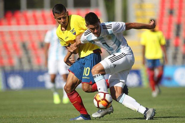 Ecuador sorprendió a Argentina y se llevó los tres puntos. Foto: EFE l Esteban Garay