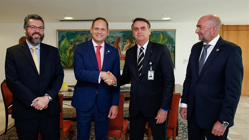 Representantes de la oposición venezolana se reúnen hoy con el canciller brasileño