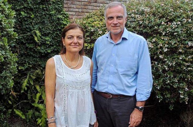 Daniel Acuña y Gabriela Almirati. Foto: @1989Encuentro