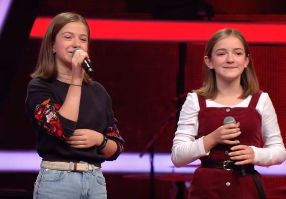 Las hermanas alemanas que emocionaron a todos en The Voice Kids