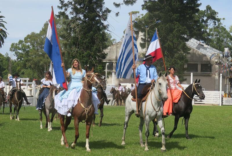Gente de a caballo